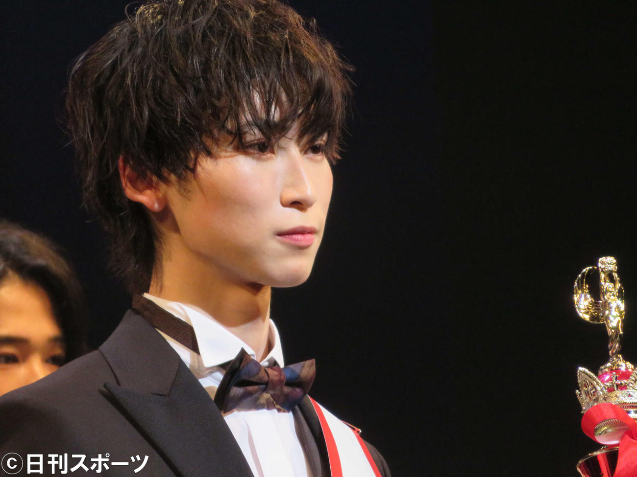 「MR OF MR CAMPUS CONTEST 2021 supported by メンズリゼ」でグランプリを受賞した鈴木廉さん(撮影・三須佳夏)