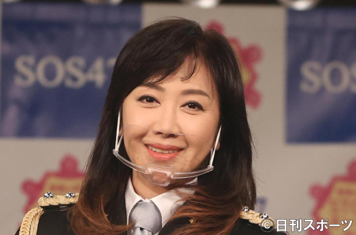 伍代夏子(2020年12月14日撮影)