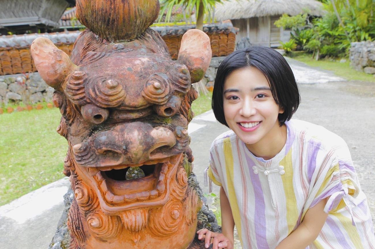 22年前期のNHK連続テレビ小説「ちむどんどん」ヒロインを務める黒島結菜