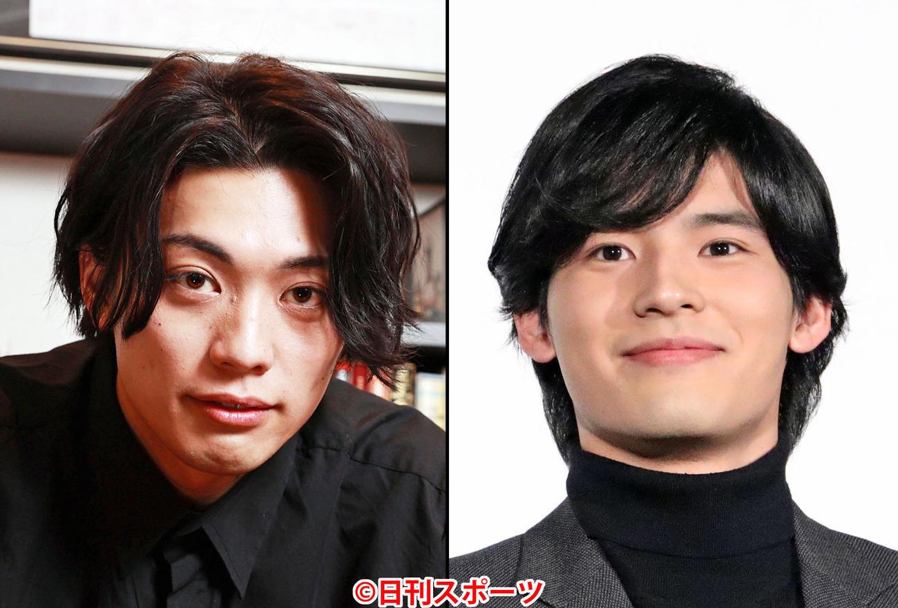 東啓介(左)と岡田健史