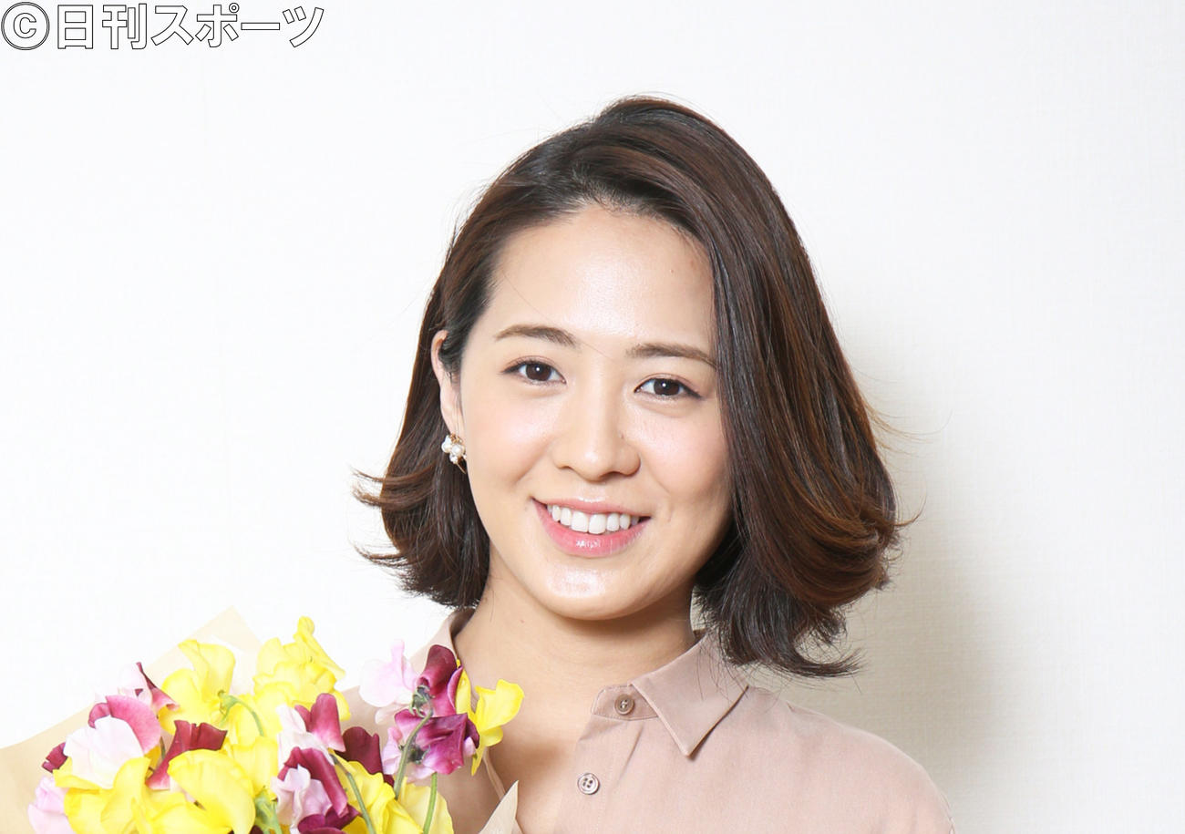フジテレビ椿原慶子アナ(2017年3月8日撮影)