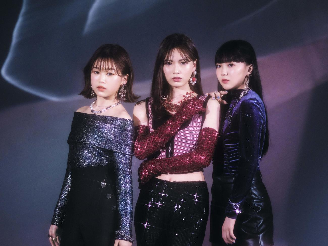 6月にメジャーデビューが決まったiScream。左からYUNA、RUI、HINATA