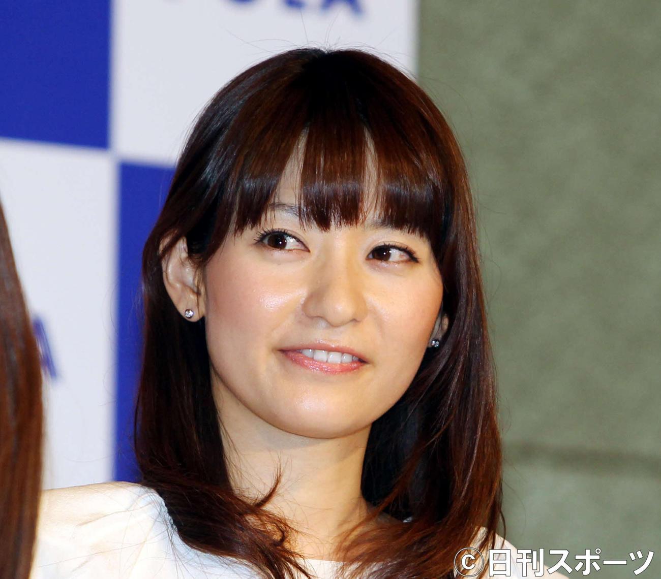 高樹千佳子さん(2010年3月撮影)