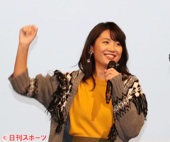 新美有加アナ(2018年9月29日撮影)
