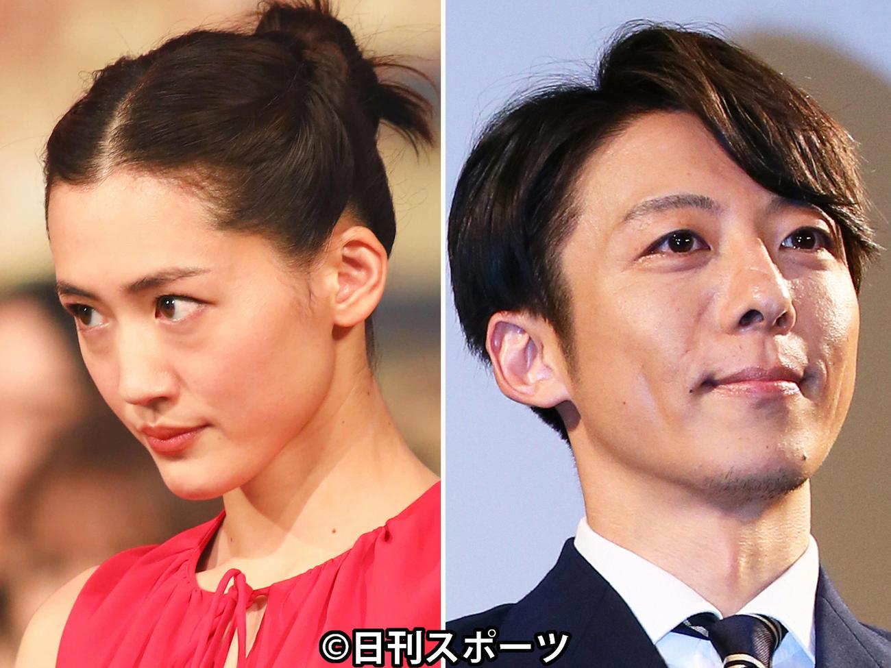 TBS系ドラマ「天国と地獄~サイコな2人~」に出演する綾瀬はるか(左)と高橋一生