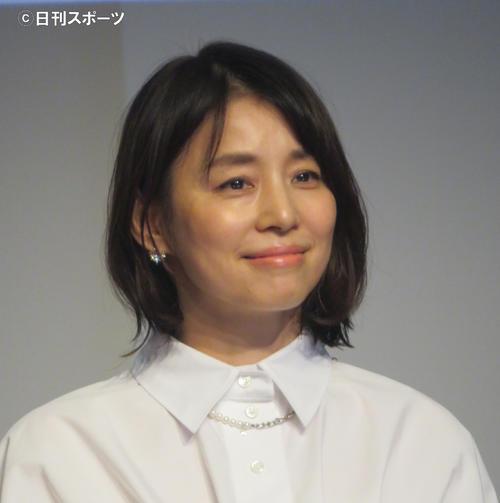 石田ゆり子(20年9月撮影)