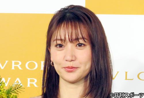 大島優子(2021年3月8日撮影)