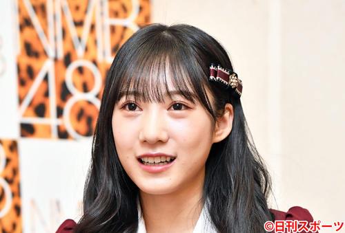NMB48の横野すみれ(2020年12月15日撮影)