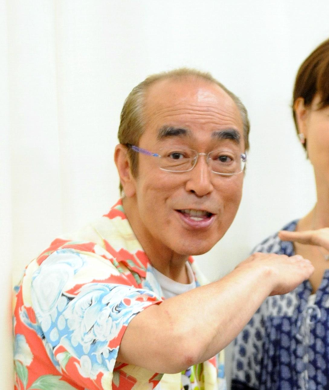 志村けんさん(2013年5月30日撮影)