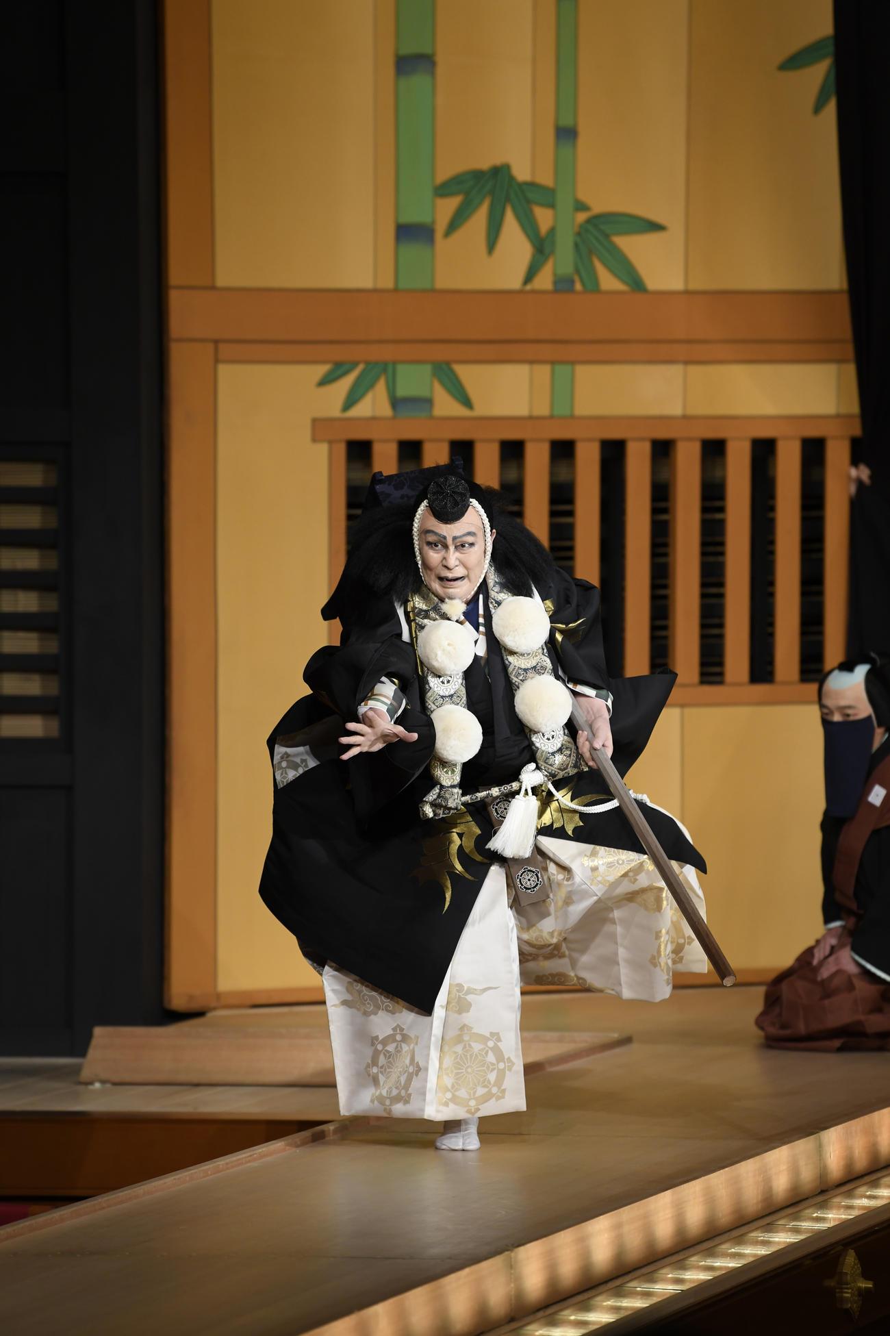 「勧進帳」で武蔵坊弁慶を演じる松本白鸚(C)松竹