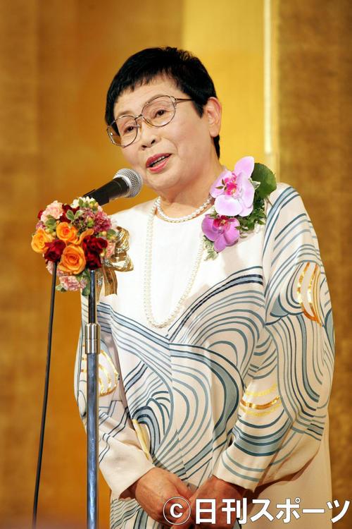 橋田壽賀子さん(05年4月4日撮影)