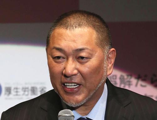 清原和博氏(2019年3月6日撮影)