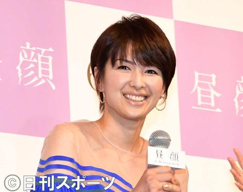吉瀬美智子(2017年5月30日撮影)