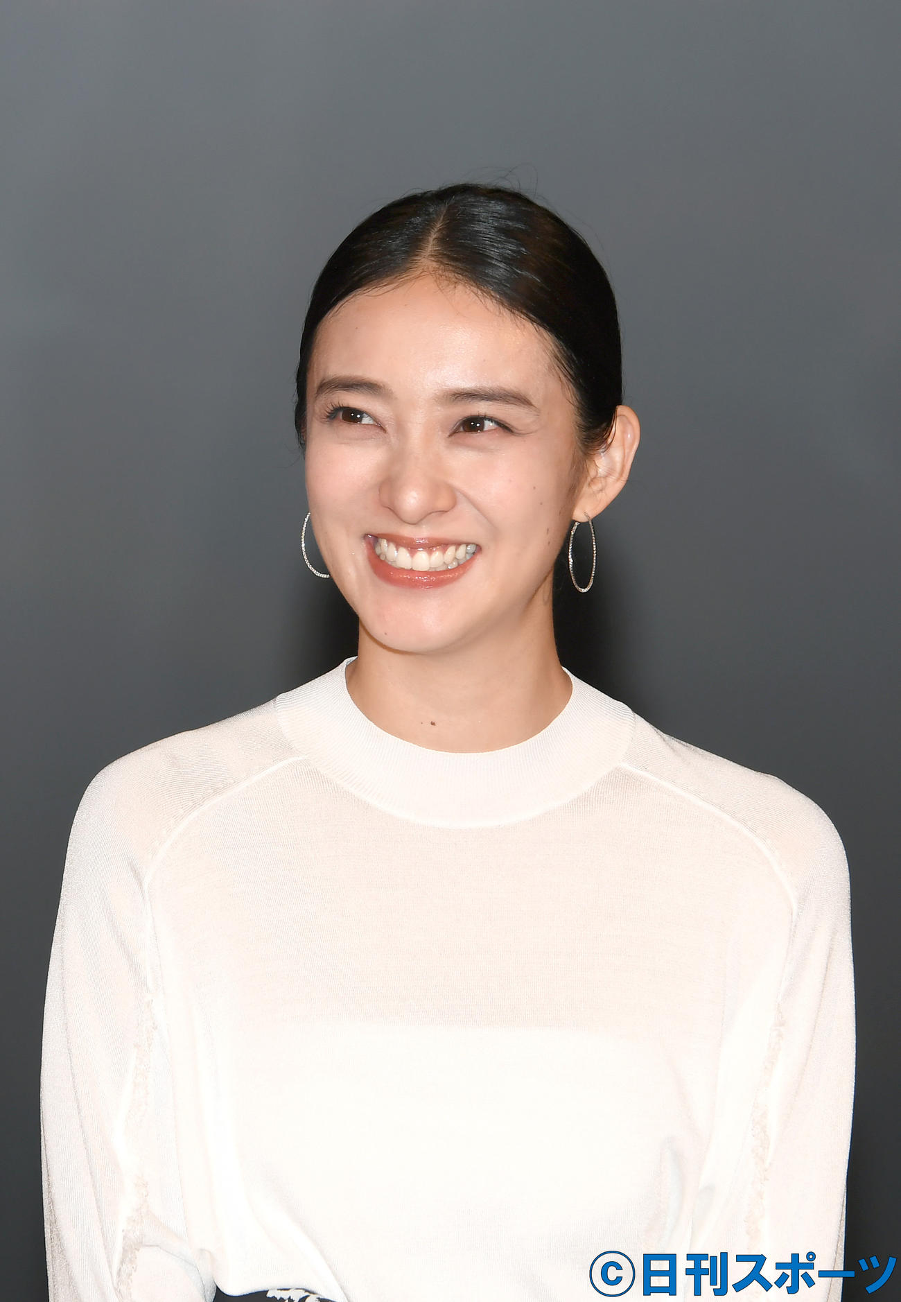 「るろうに剣心最終章」の公開イベントで、あいさつする神谷薫役の武井咲