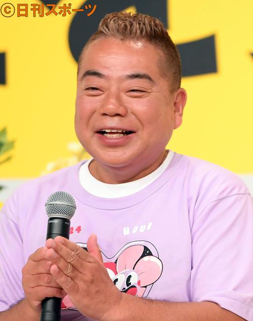 出川哲朗(18年7月9日撮影)