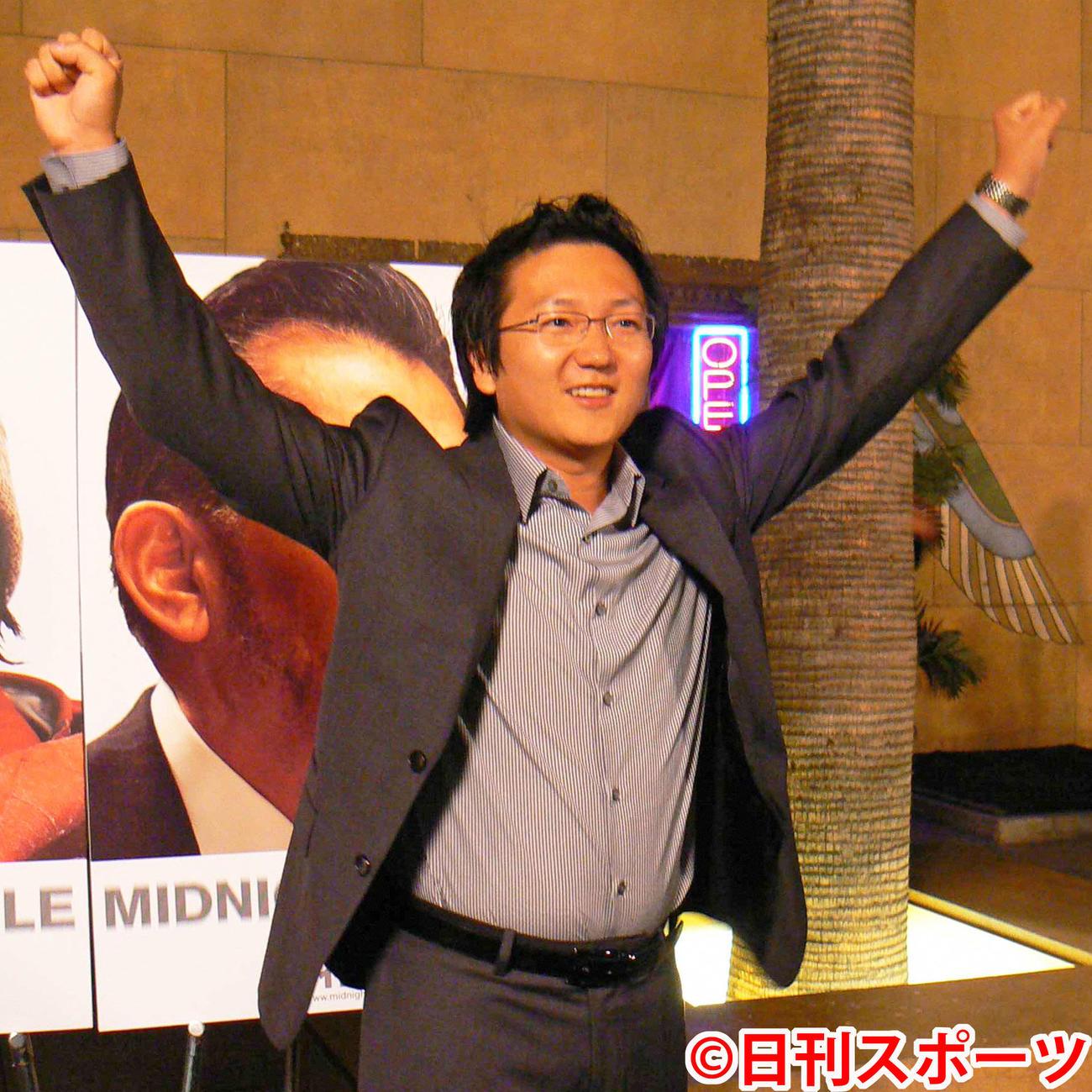 マシ・オカ(2007年10月3日撮影)