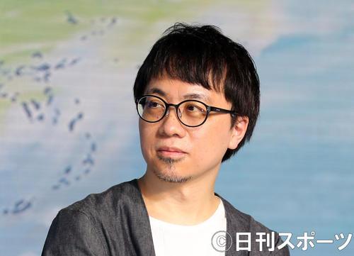 新海誠監督(2019年7月2日撮影)