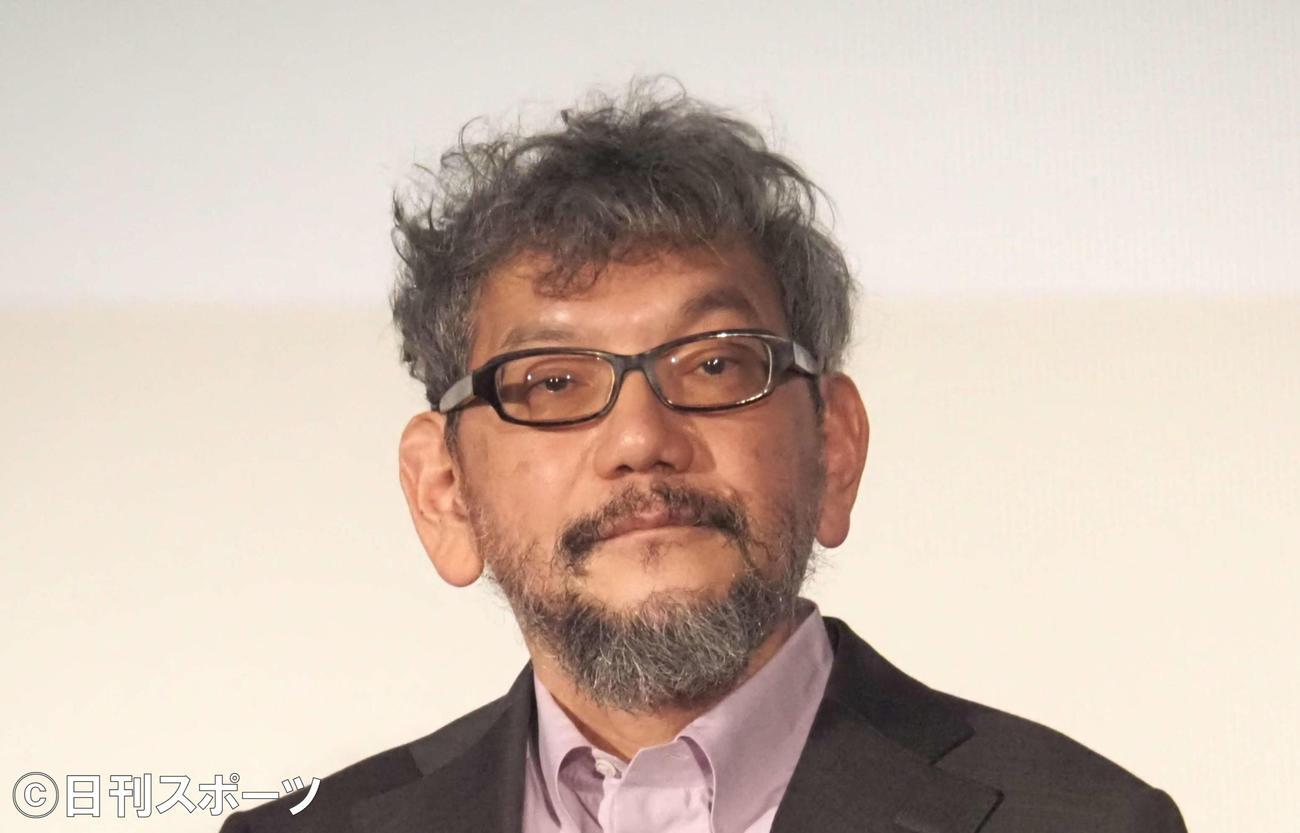 庵野秀明監督(2021年4月11日撮影)