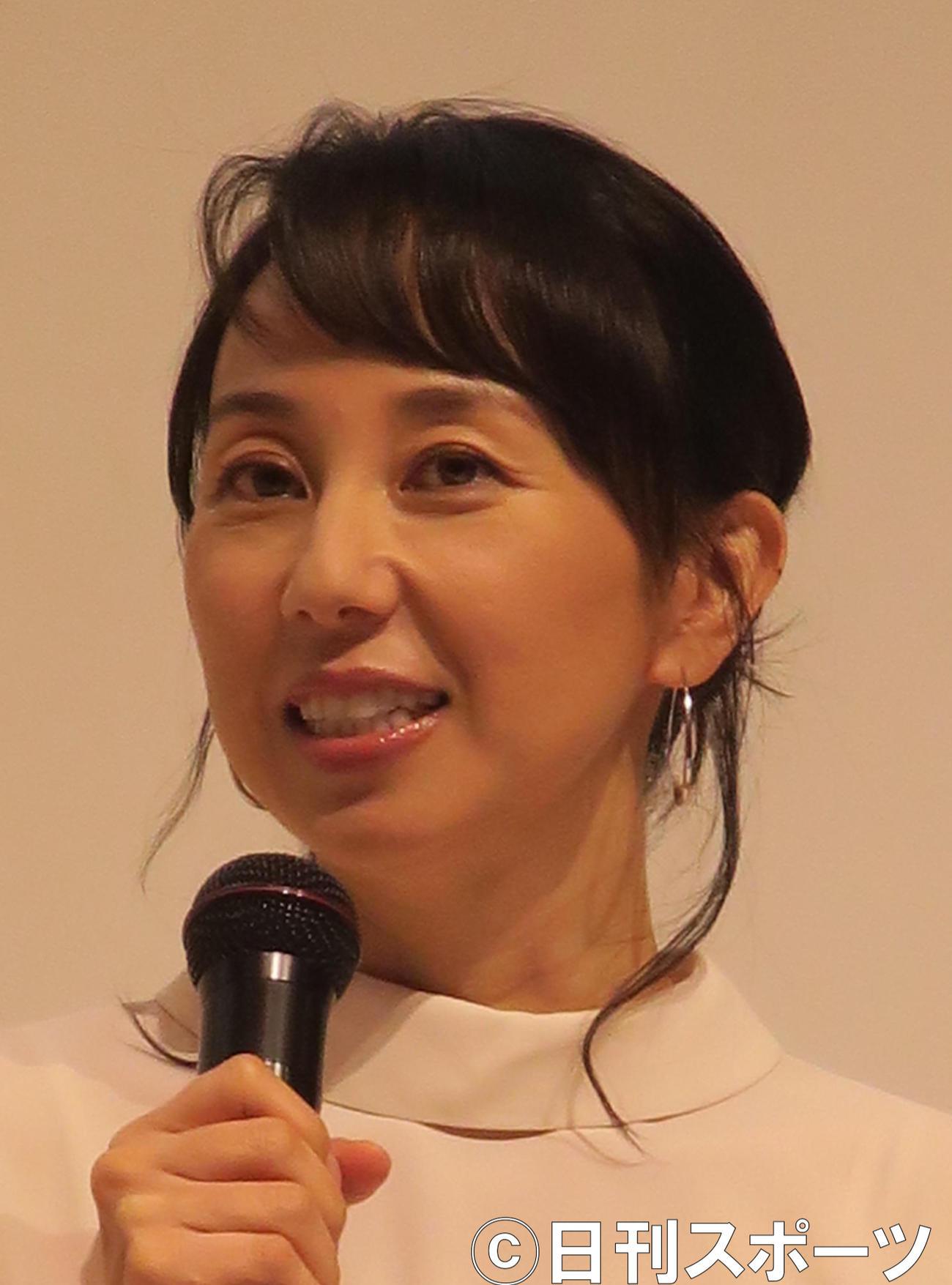 東尾理子(2017年10月18日撮影)