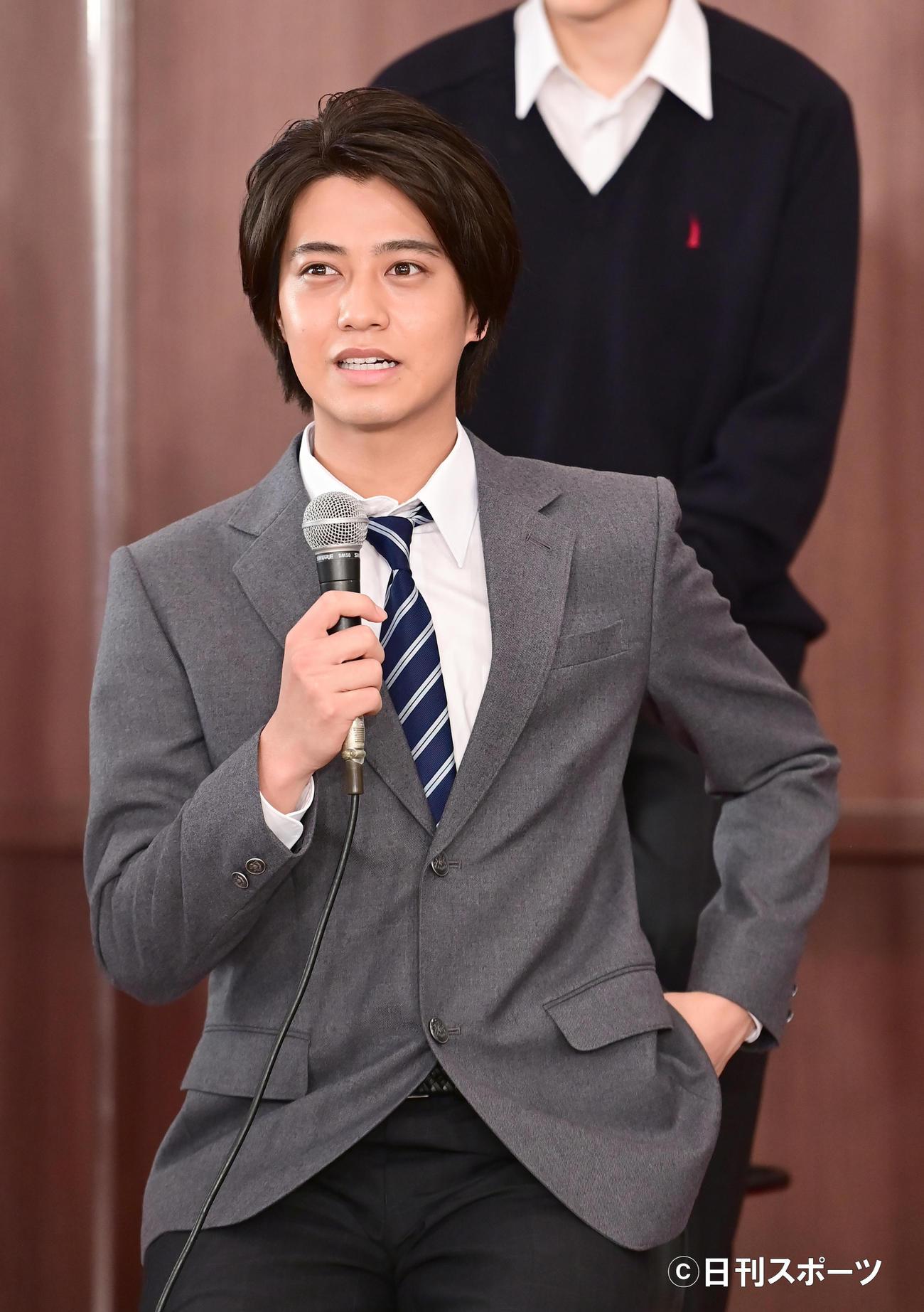 TBS系日曜劇場「ドラゴン桜」制作発表に臨む高橋海人(撮影・小沢裕)