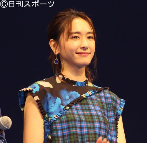 新垣結衣(2018年7月11日撮影)