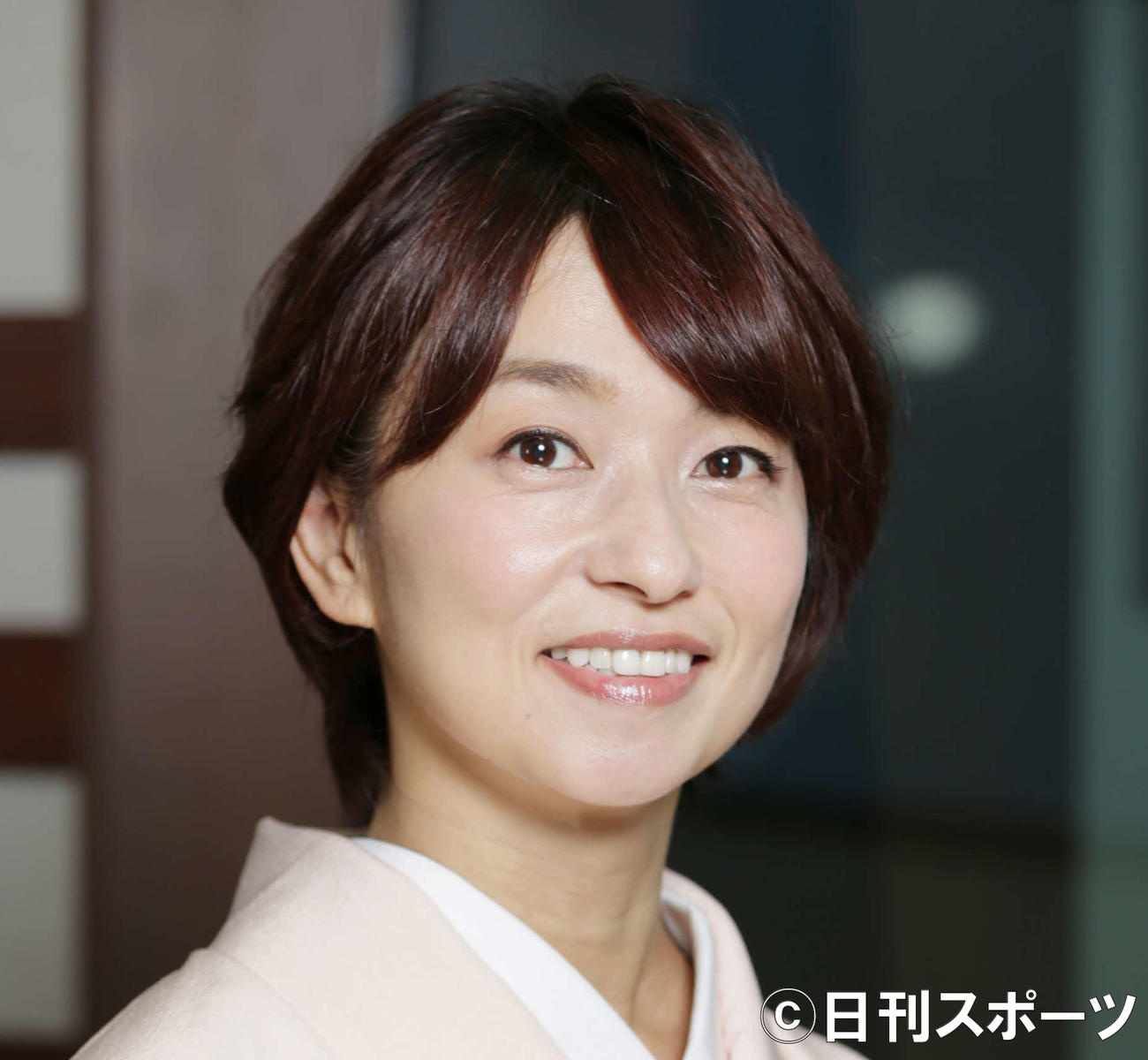住吉美紀アナウンサー(19年11月撮影)