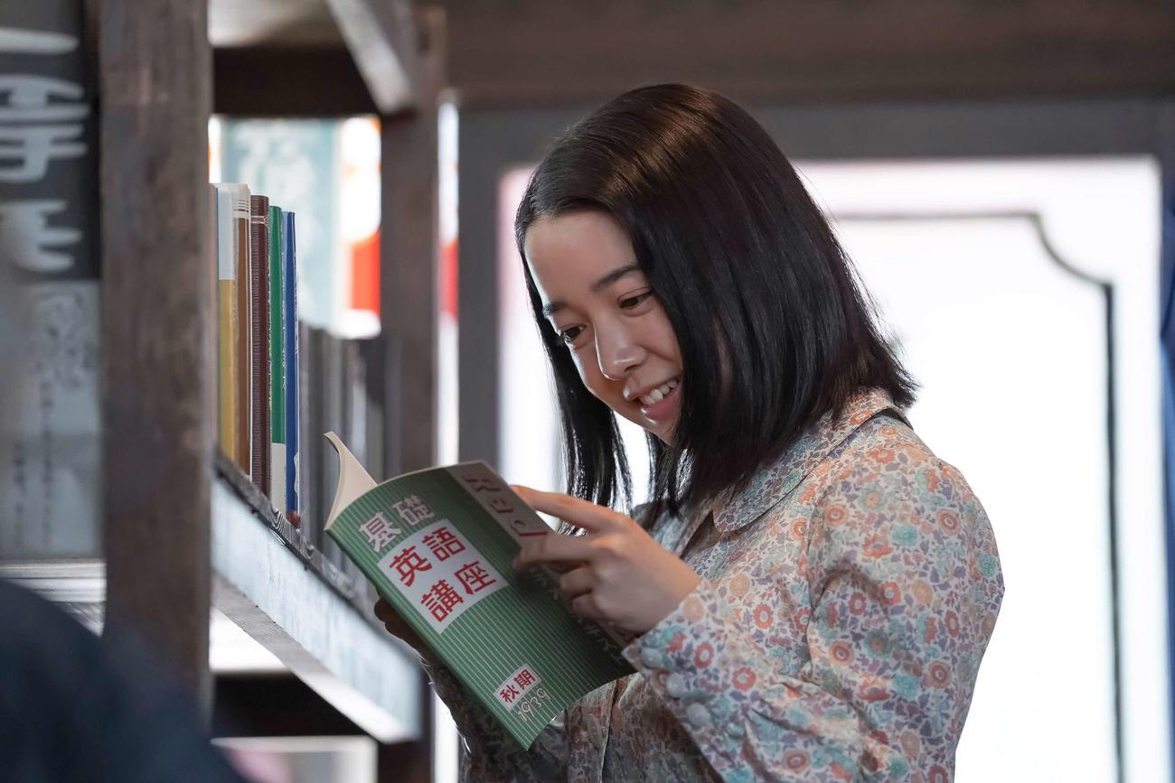 「カムカムエヴリバディ」で初代ヒロインを務める上白石萌音(NHK提供)
