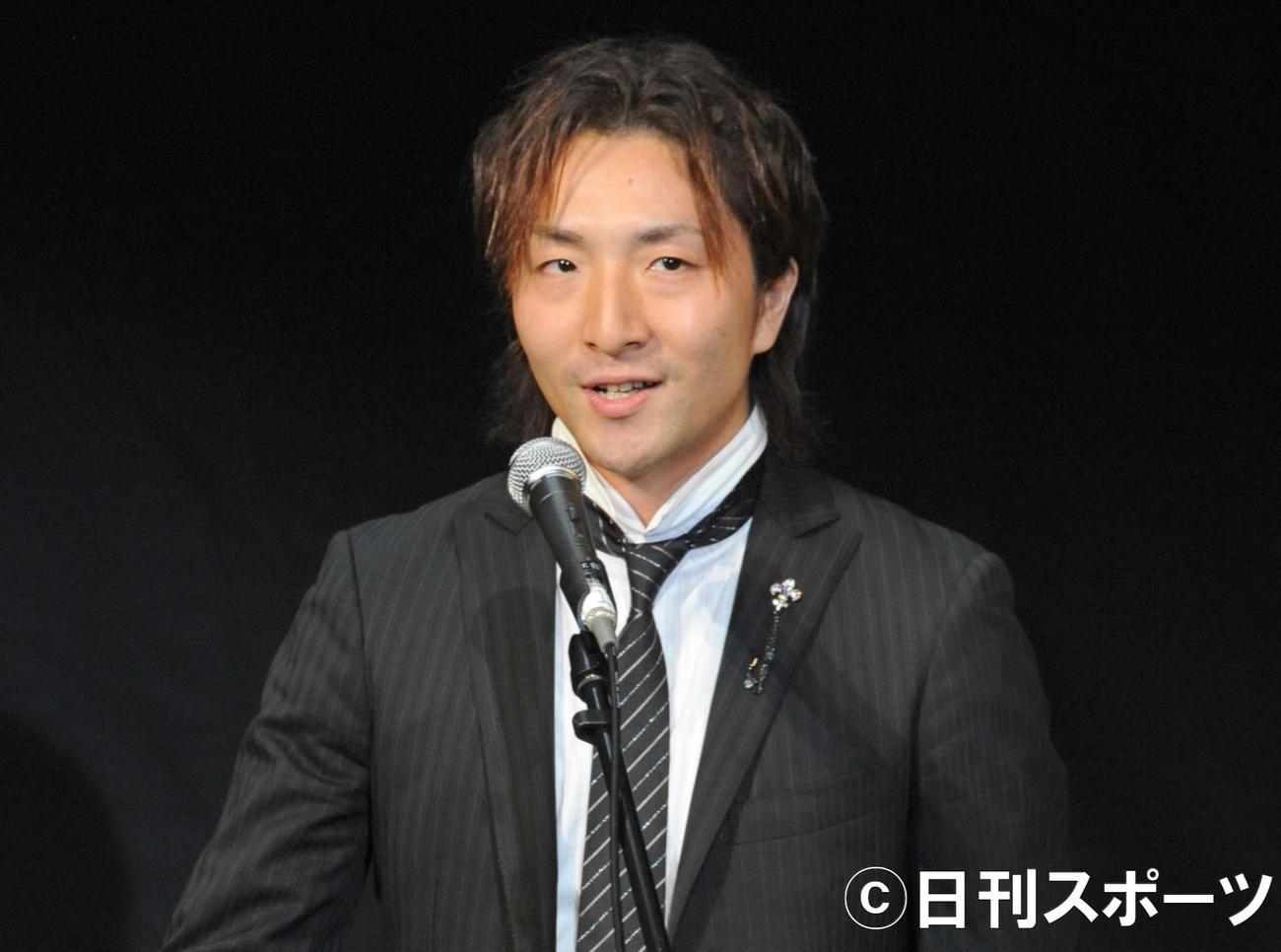 松原剛志(2009年9月21日撮影)