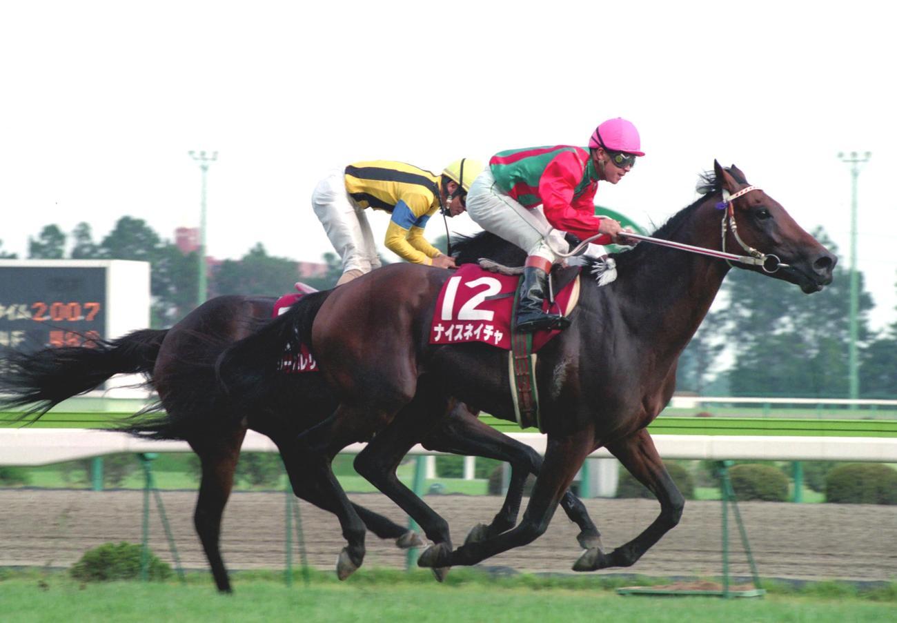 94年、高松宮杯を制したナイスネイチャ