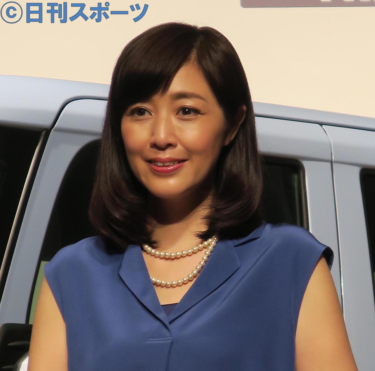 菊池桃子(16年6月13日撮影)