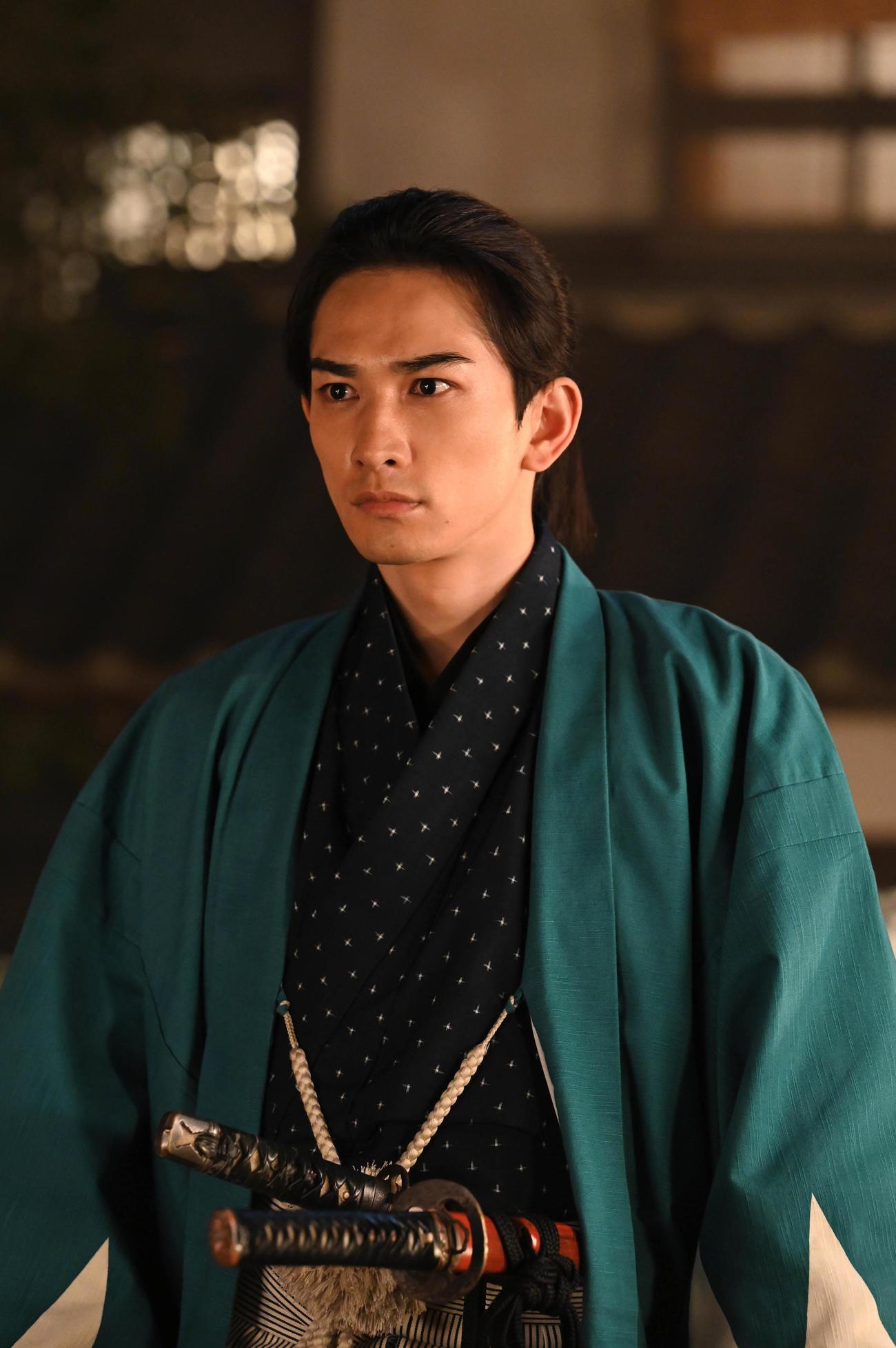 大河ドラマ「青天を衝け」で土方歳三役を演じる町田啓太(C)NHK