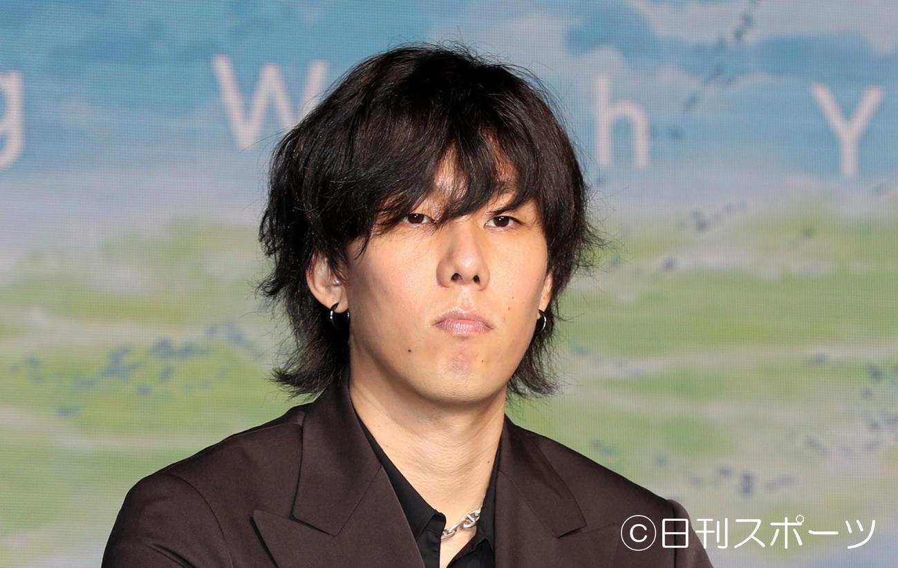 RADWIMPSの野田洋次郎(2019年7月2日撮影)