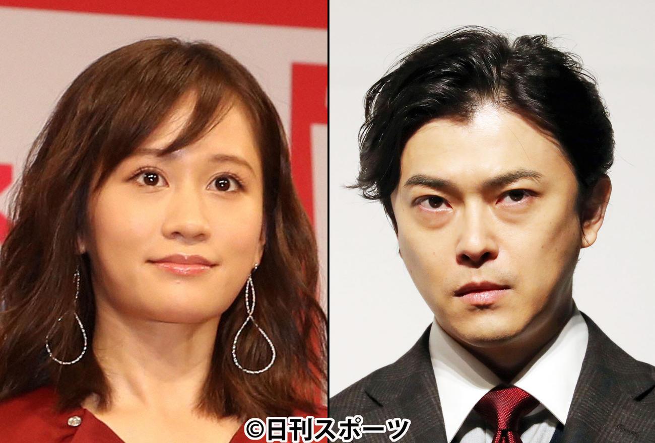前田敦子(左)と勝地涼