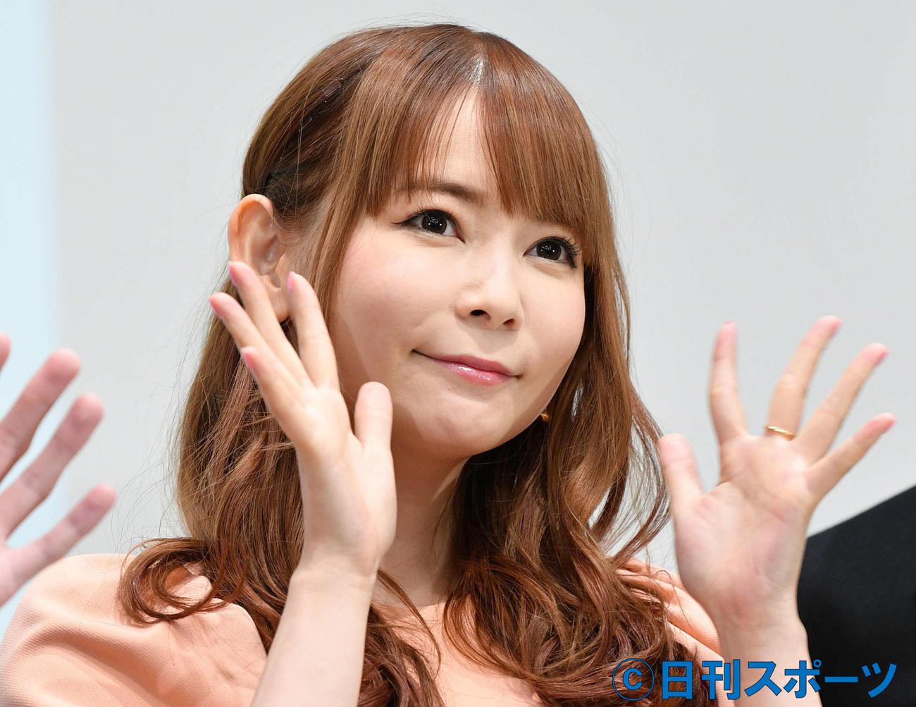 中川翔子(2020年11月24日撮影)