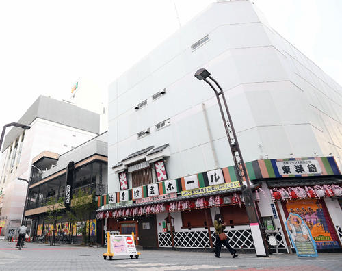 浅草演芸ホール(2020年4月10日撮影)