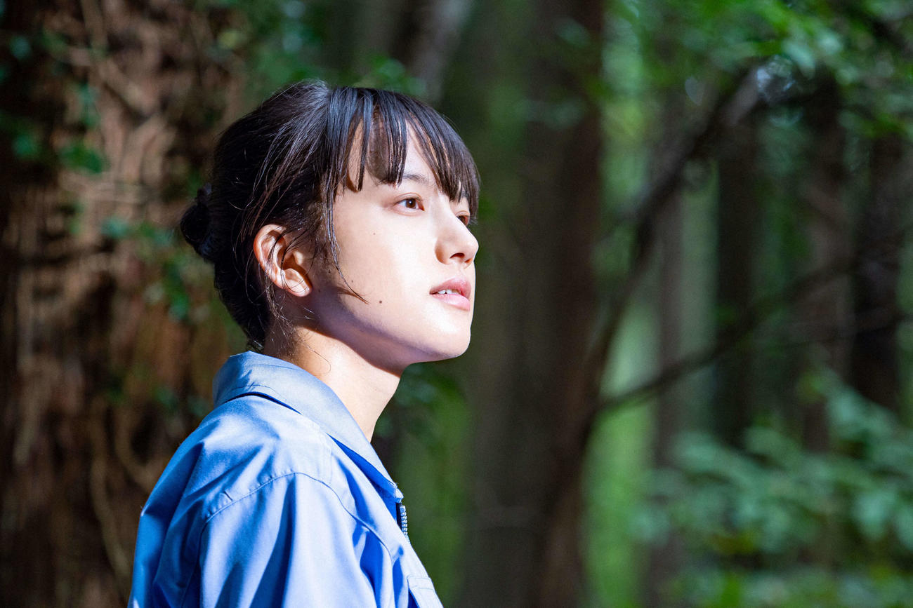 NHK連続テレビ小説「おかえりモネ」に主演する清原果耶