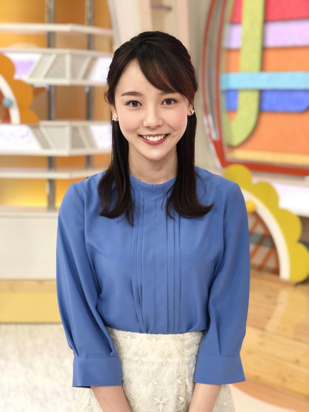 テレビ朝日系情報番組「グッド!モーニング」に出演する森千晴