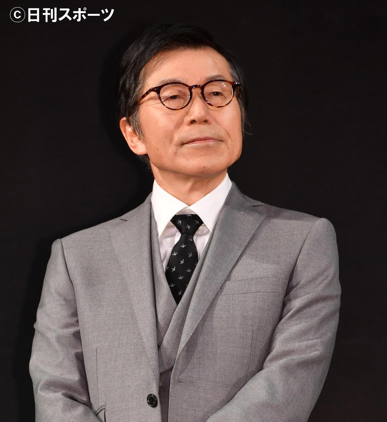 平田満(20年1月撮影)