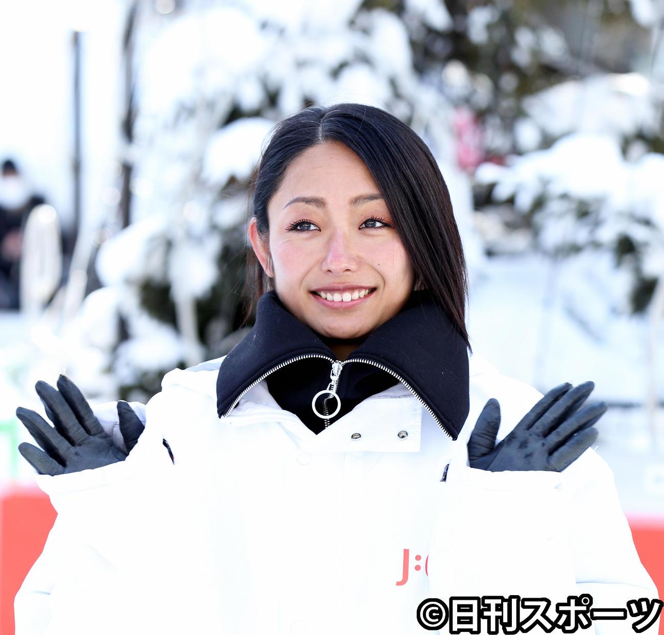 安藤美姫(2020年2月4日撮影)
