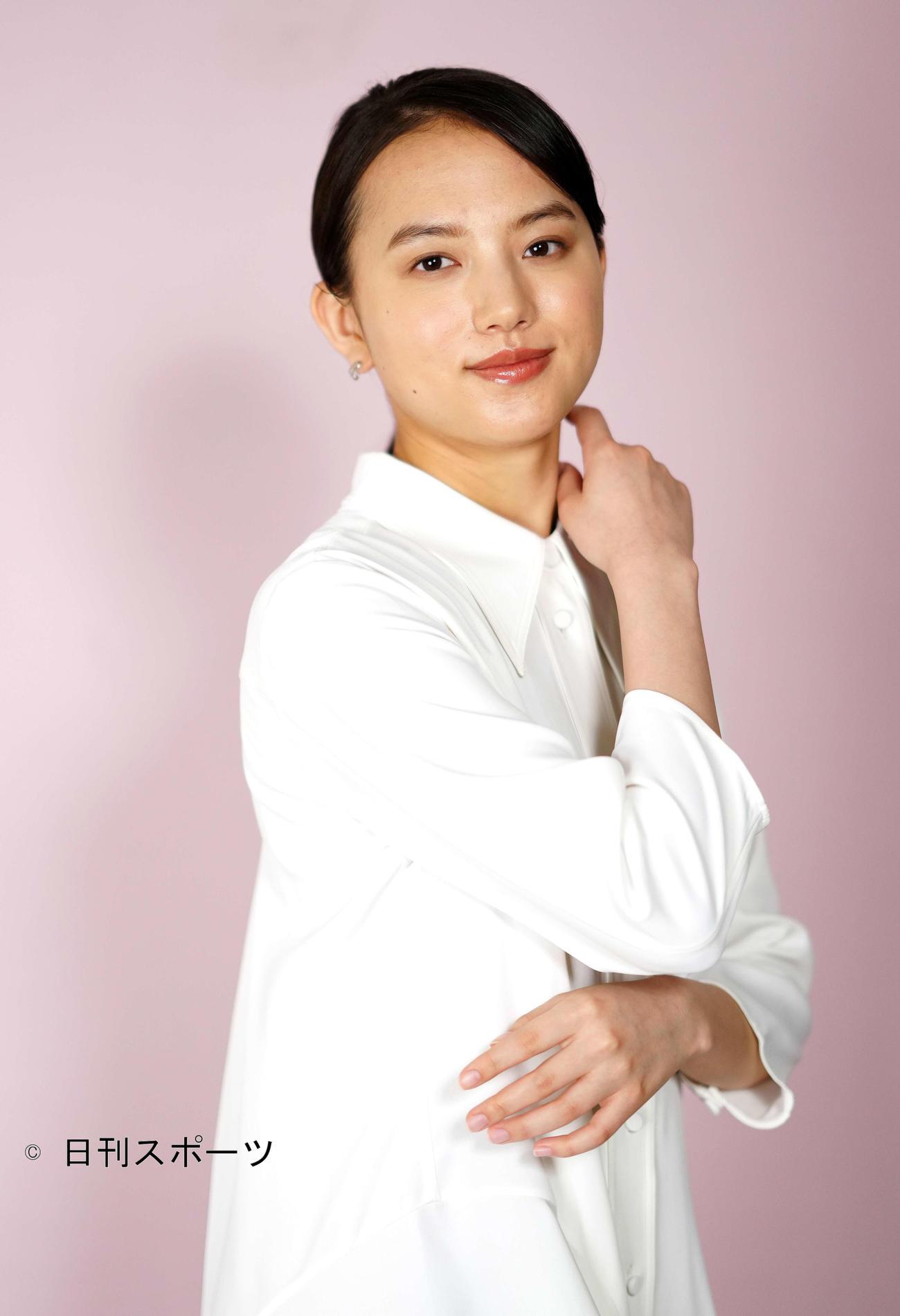 NHK連続テレビ小説「おかえりモネ」でヒロインを務める清原果耶(撮影・江口和貴)