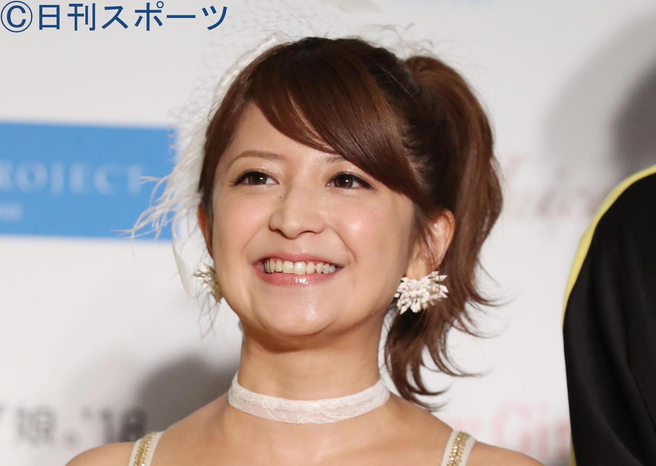 矢口真里(2018年8月5日撮影)