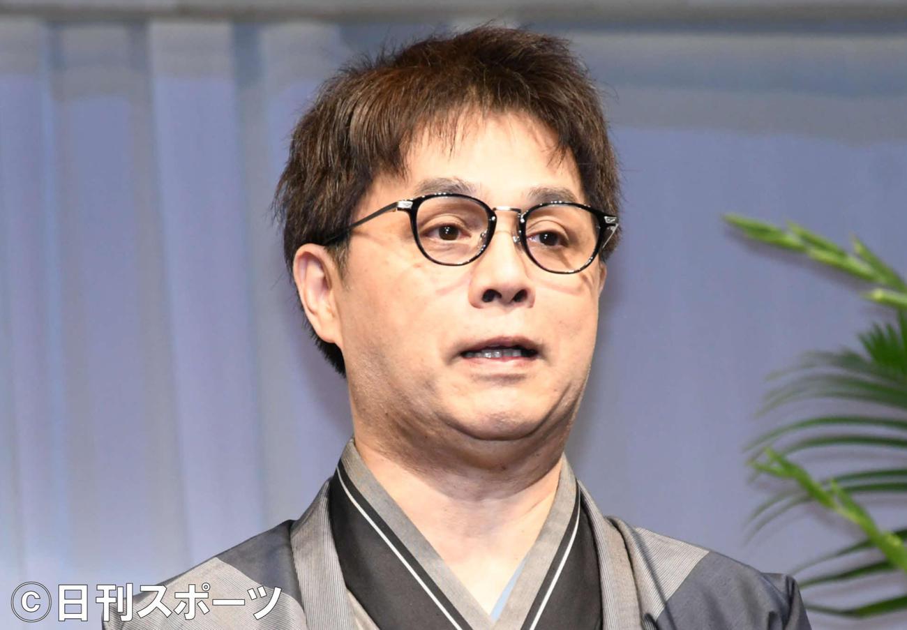 立川志らく(2019年10月8日撮影)