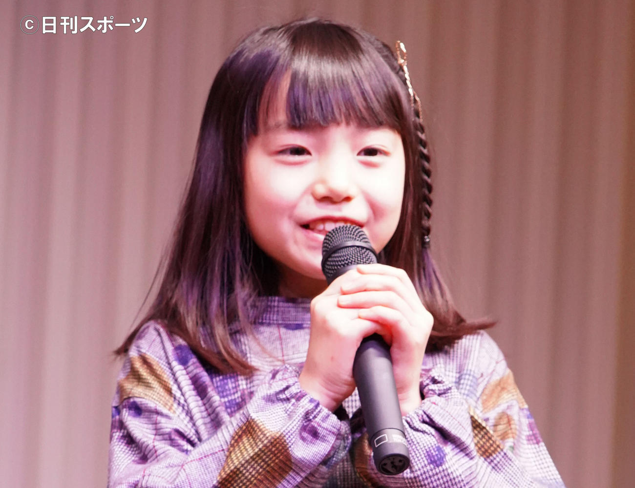 稲垣来泉(20年1月撮影)