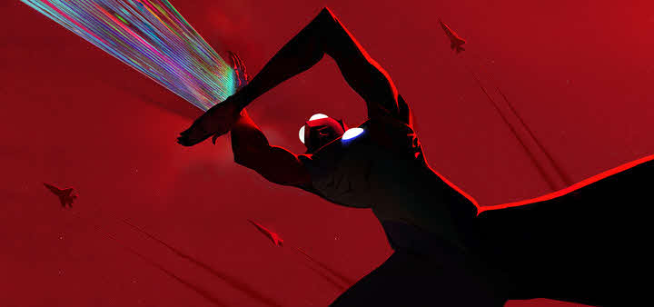 円谷プロダクションが米Netflixと共同製作するCGアニメ長編映画「Ultraman(原題)」(C)円谷プロ