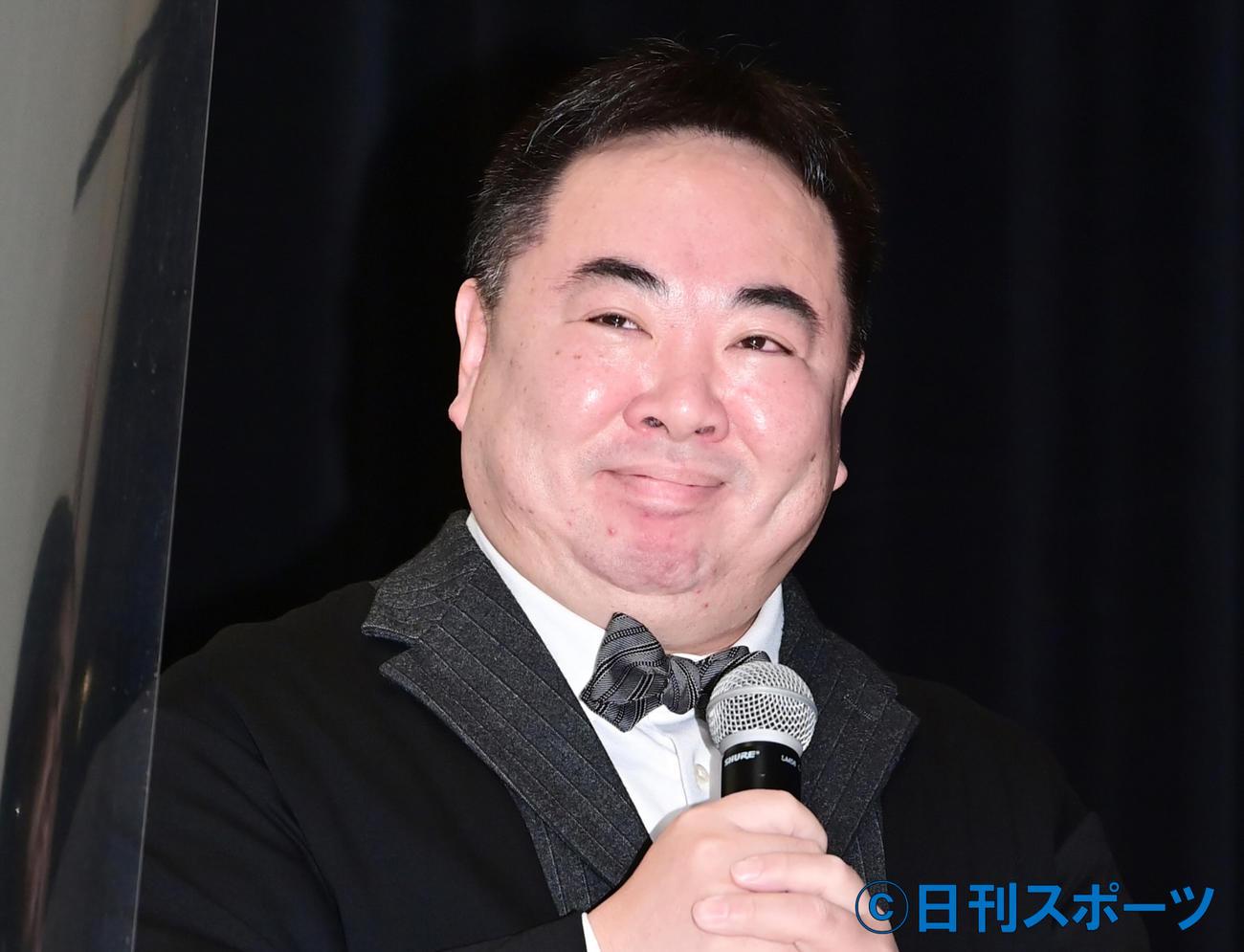 塚地武雅(2021年2月5日撮影)