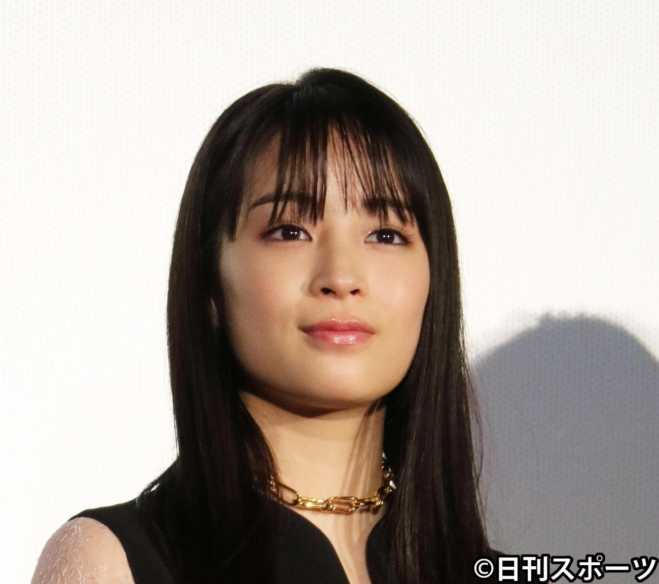 広瀬すず(2020年1月17日撮影)