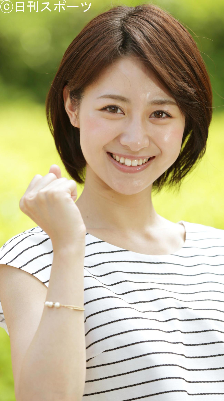テレビ朝日林美沙希アナウンサー(15年6月撮影)