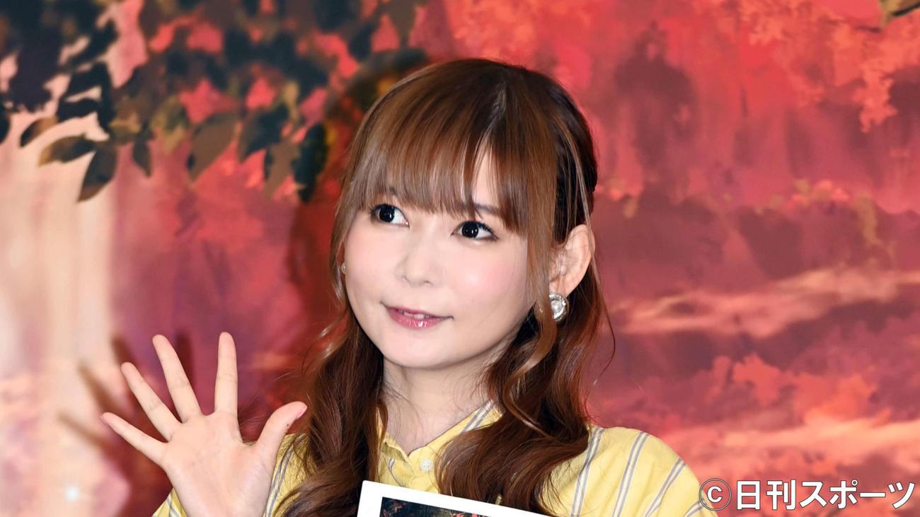 中川翔子(2020年11月28日撮影)
