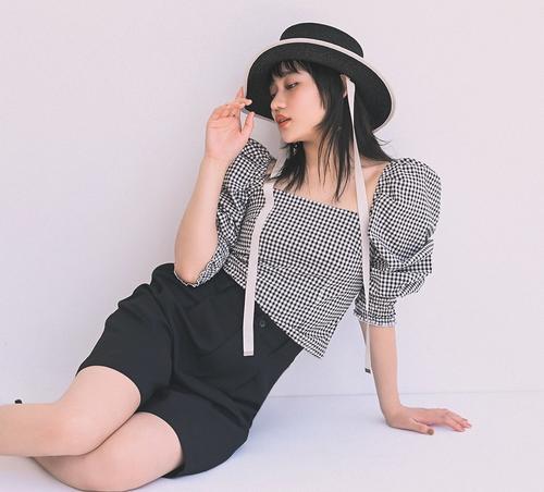 ファッション誌「CanCam」(小学館)の専属モデルに就任したアンジュルム佐々木莉佳子
