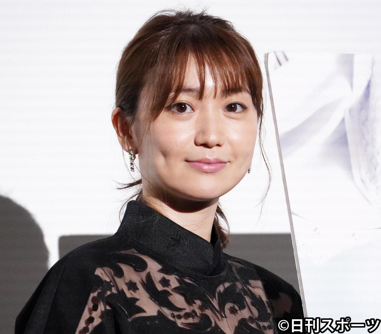 イベントに出席した大島優子(2021年6月撮影)